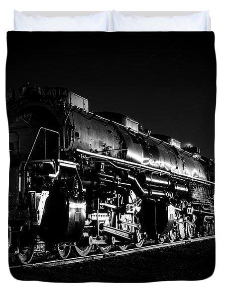 Union Pacific Big Boy Duvet Cover