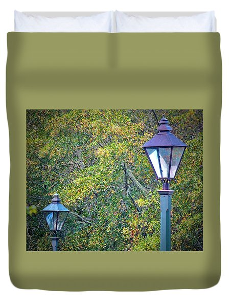 Duvet Cover featuring the photograph Unitled #11 by Don Moore