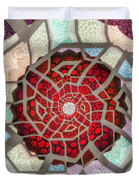 Untitled Meditation Duvet Cover