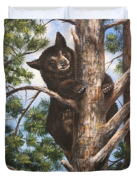 Up A Tree Duvet Cover