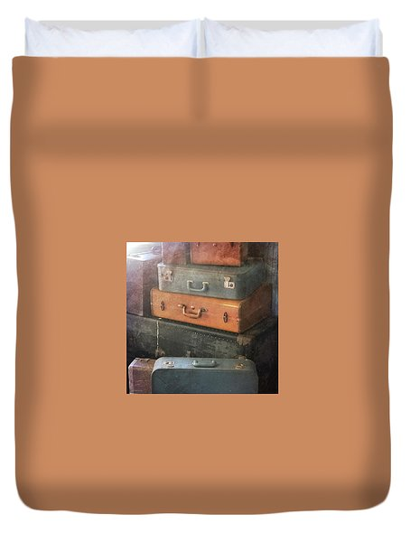 Up In The Attic Duvet Cover
