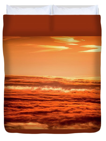 Duvet Cover featuring the photograph Upside Down by Onyonet  Photo Studios