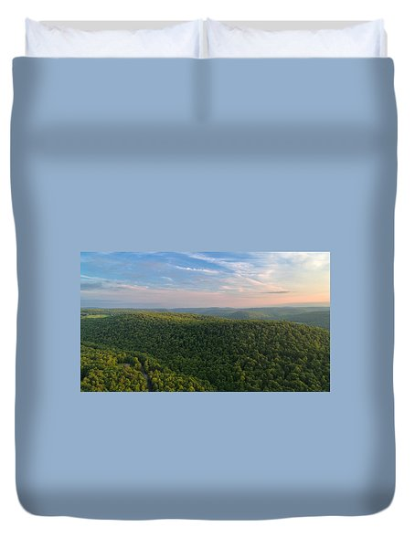Upstate New York  Duvet Cover