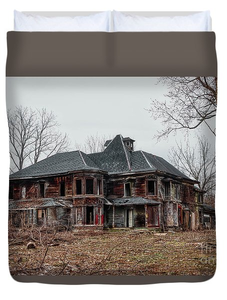 Urban Exploration Duvet Cover