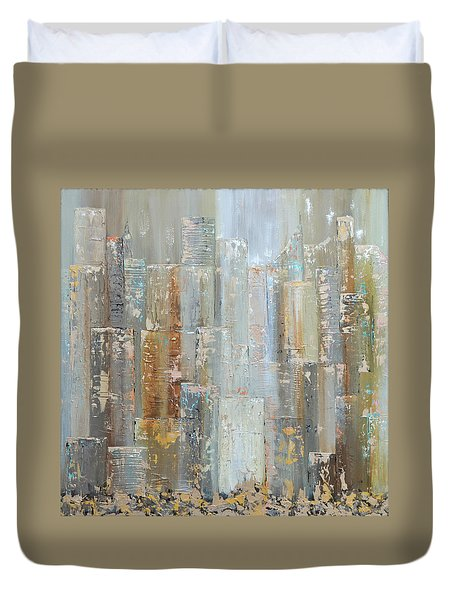 Urban Reflections I Day Version Duvet Cover