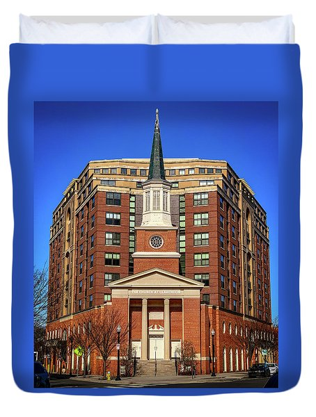 Urban Religion Duvet Cover