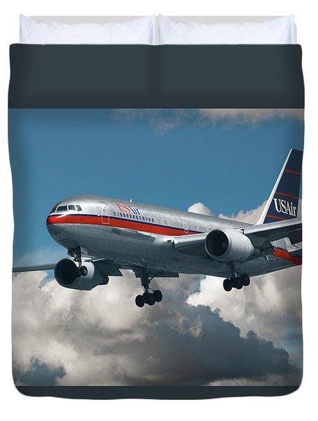 Us Air Boeing 767-200 Duvet Cover