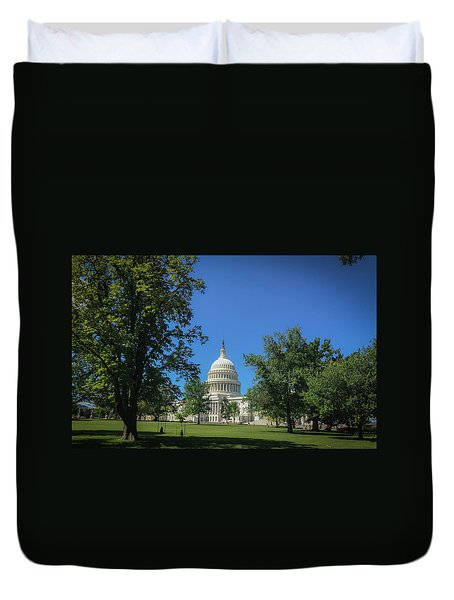 Us Capitol Duvet Cover