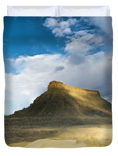 Utah Butte Duvet Cover