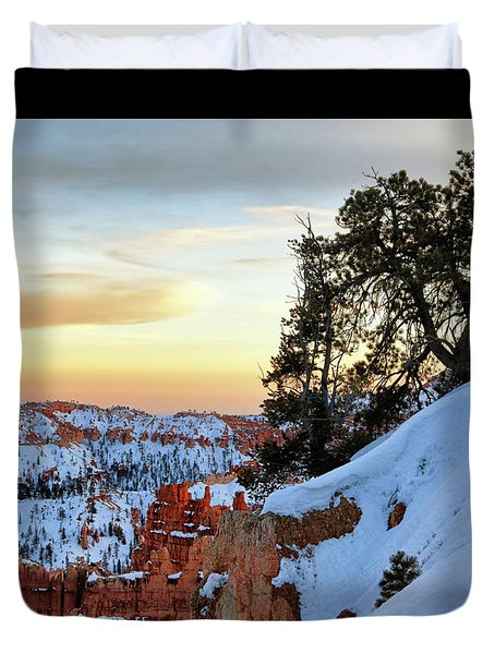 Duvet Cover featuring the photograph Utah Magic by Nicholas Blackwell