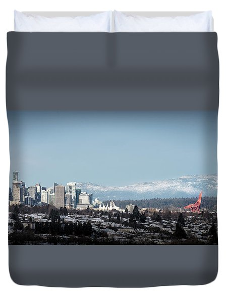 Vacouver Winter 1 Duvet Cover