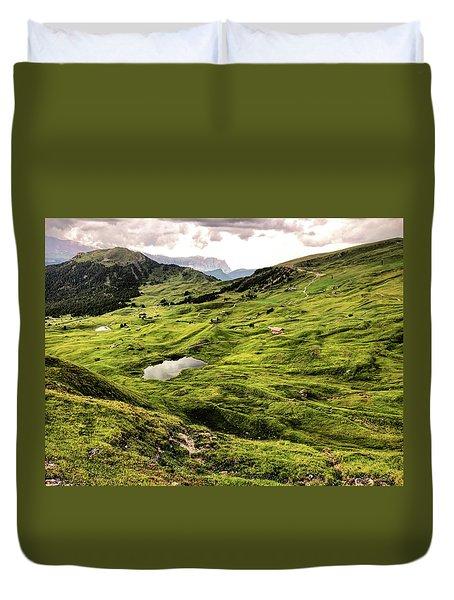 Val Gardenia Duvet Cover