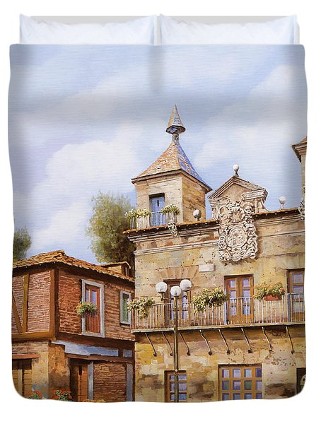 Valderas-spain Duvet Cover