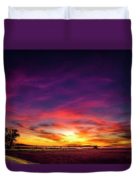 Valentine Sunset Duvet Cover