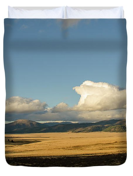 Valles Caldera National Preserve II Duvet Cover