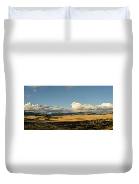 Valles Caldera National Preserve II Duvet Cover