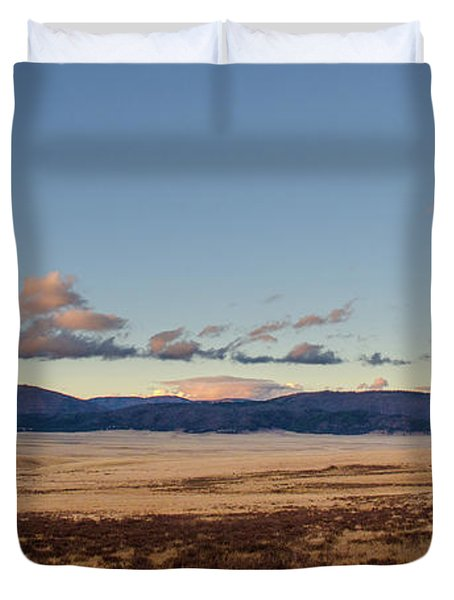 Valles Caldera National Preserve Duvet Cover