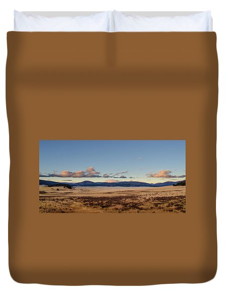 Valles Caldera National Preserve Duvet Cover
