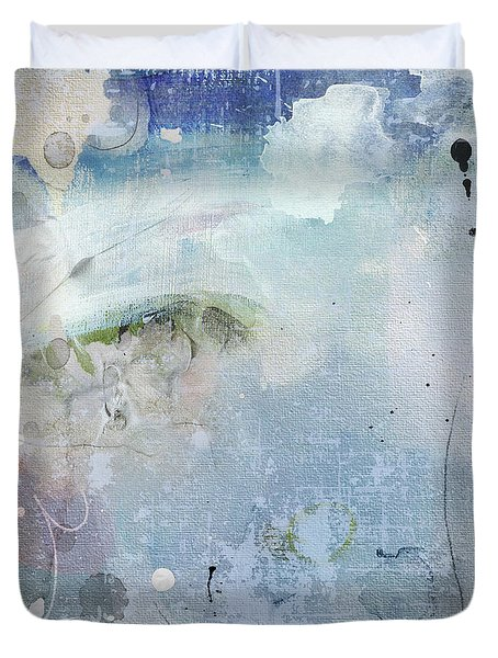 Valley In The Clouds Duvet Cover