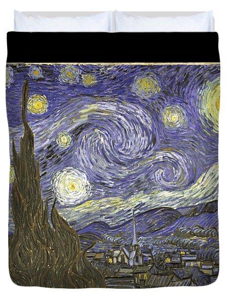 Van Goh Starry Night Duvet Cover