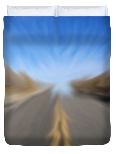 Vanishing Poiint Duvet Cover