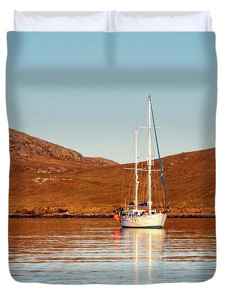 Vatersay Bay Duvet Cover