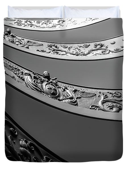 Vatican_museum Duvet Cover