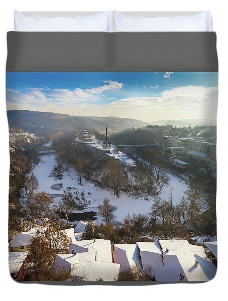 Veliko Turnovo City Duvet Cover