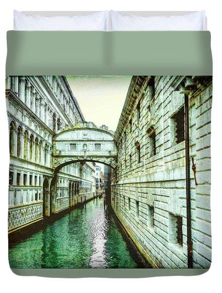 Venice Bridge Of Sighs Duvet Cover