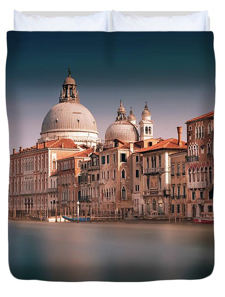 Venice Grand Canal Duvet Cover
