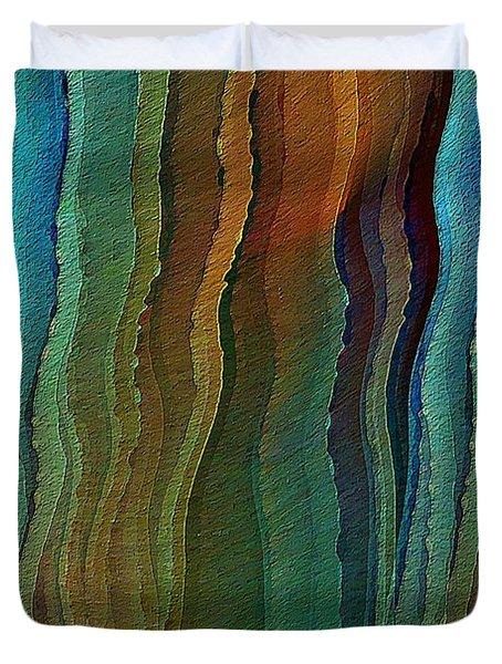 Vents Under The Sea Duvet Cover