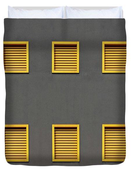 Verona Windows 3 Duvet Cover