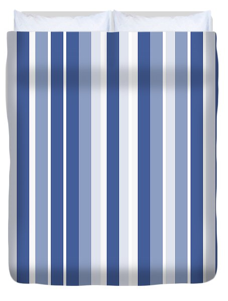Vertical Lines Background - Dde605 Duvet Cover