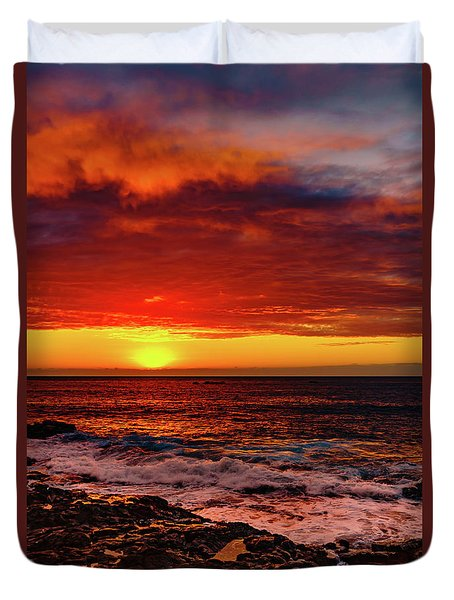 Vertical Warmth Duvet Cover