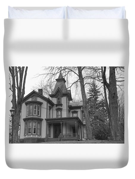 Victorian Mansion - Waterloo Village Duvet Cover