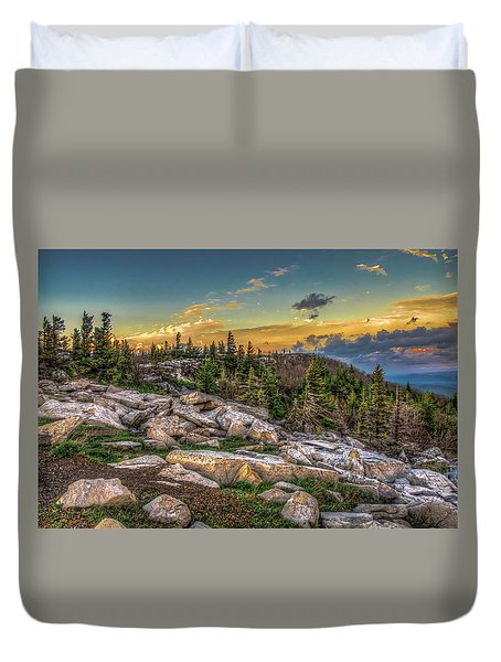 View From Dolly Sods 4714 Duvet Cover