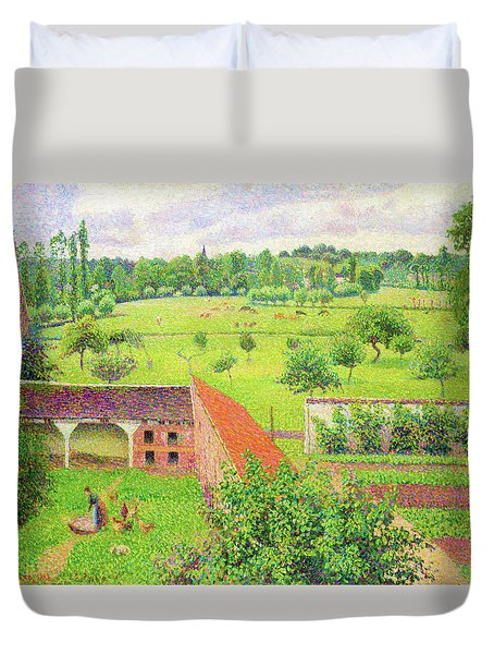 View From My Window, Eragny-sur-epte - Digital Remastered Edition Duvet Cover