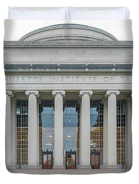 View Of Massachusetts Institute Duvet Cover