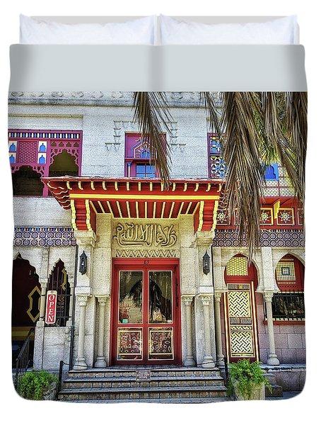 Villa Zorayda Duvet Cover