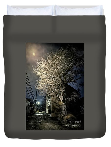 If Trees Could Talk Duvet Cover