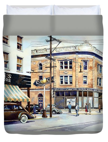 Vintage Color, Hinkle's Duvet Cover