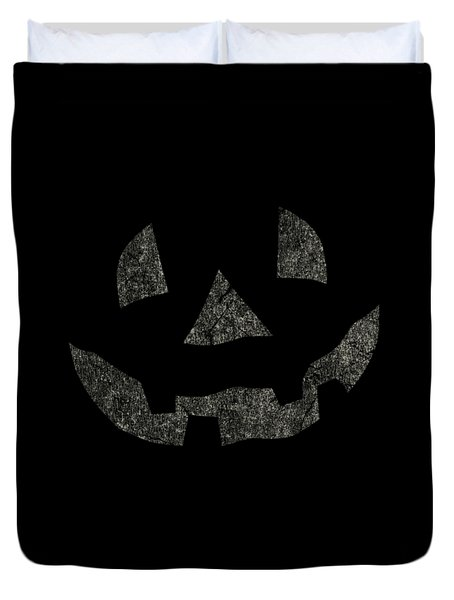 Vintage Pumpkin Face Duvet Cover