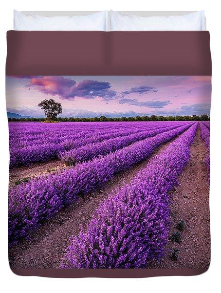 Violet Dreams Duvet Cover