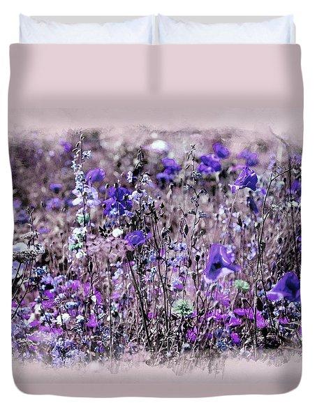 Violet Mood Duvet Cover