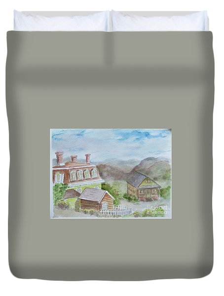 Virginia City Nevada Duvet Cover