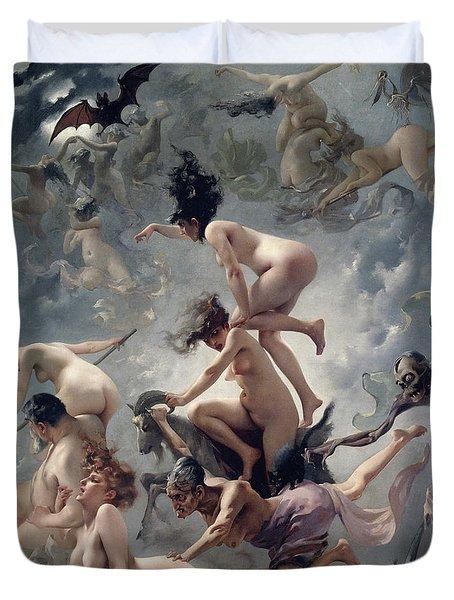 Vision De Faust Duvet Cover