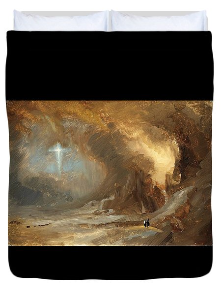 Vision Of The Cross - Digital Remastered Edition Duvet Cover