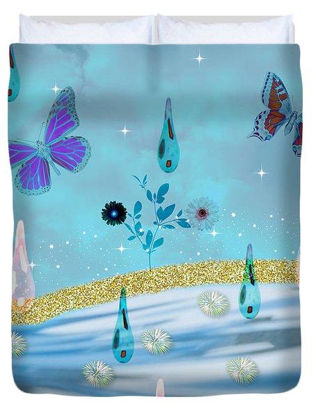 Visions Of Grandeur Duvet Cover