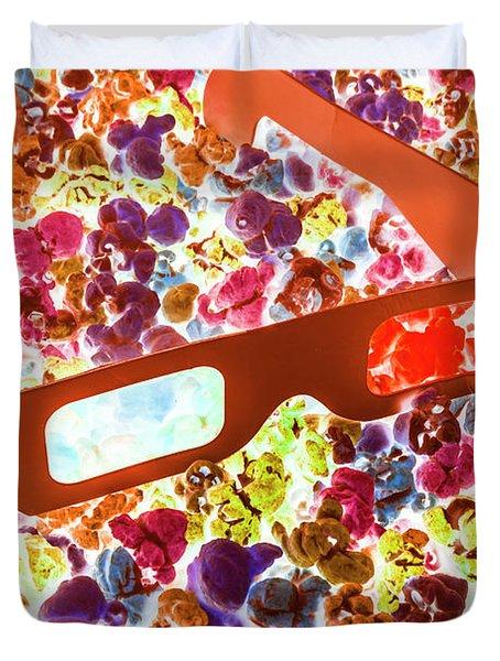 Visual Pop Art Duvet Cover