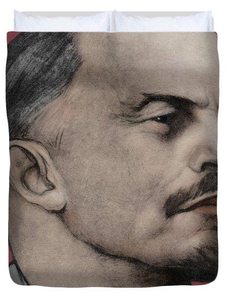 Vladimir Ilich Lenin Duvet Cover
